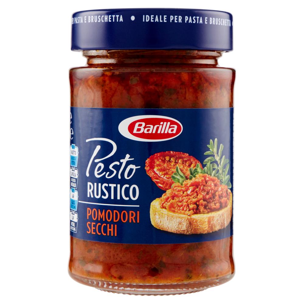 Pesto rustico pomo secchi, Barilla (200 g)