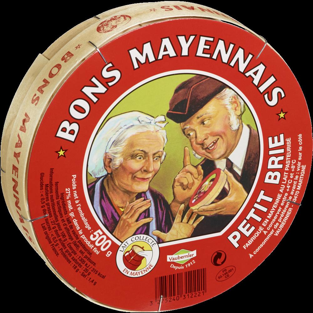 Petit brie 27%, Le Bon Mayennais (500 g)