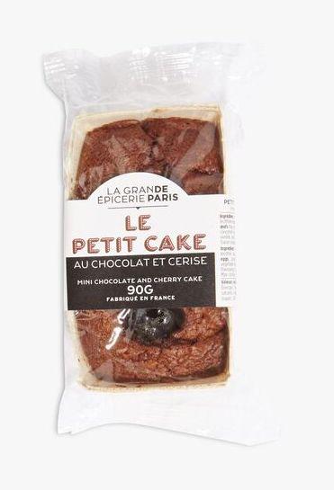 Petit cake au chocolat et aux cerises, La Grande Epicerie de Paris (90 g)