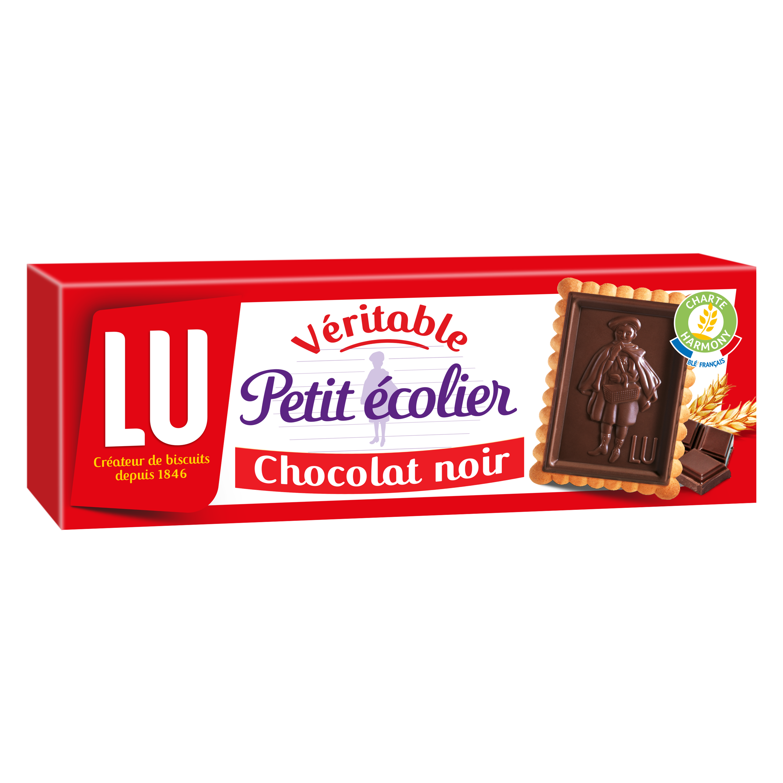 Petit écolier Chocolat noir, Lu (150 g)