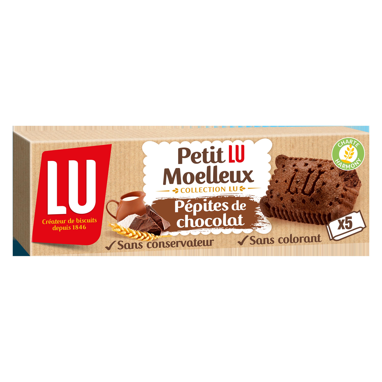 Petit Lu Moelleux Chocolat, Lu (x 5, 140 g)
