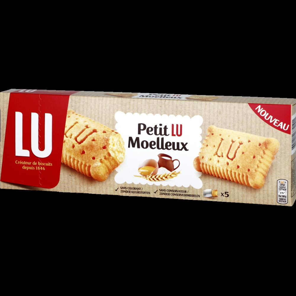 Petit Lu Moelleux nature, Lu (x 5, 140 g)