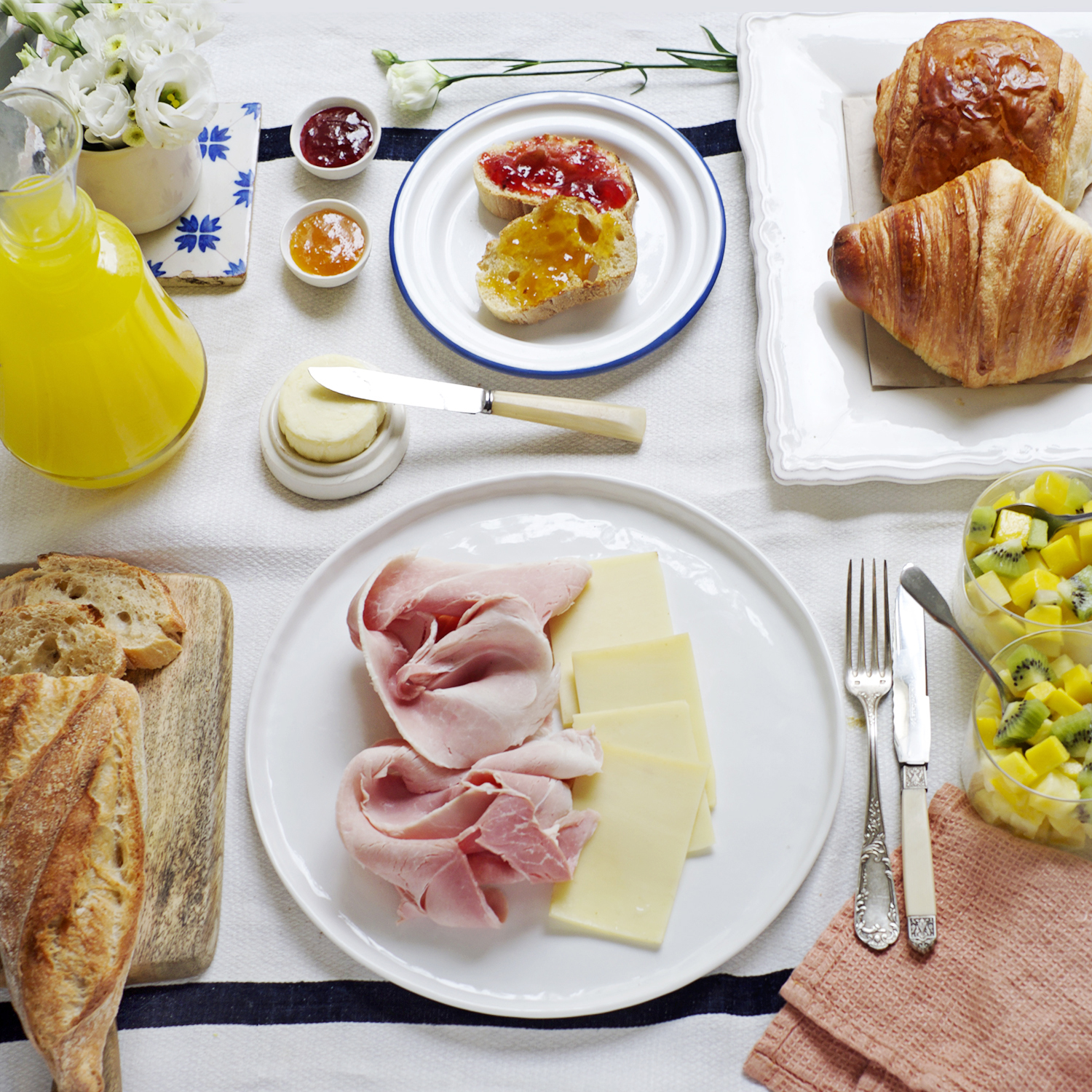 Brunch option Jambon Prince de Paris (pour 2)