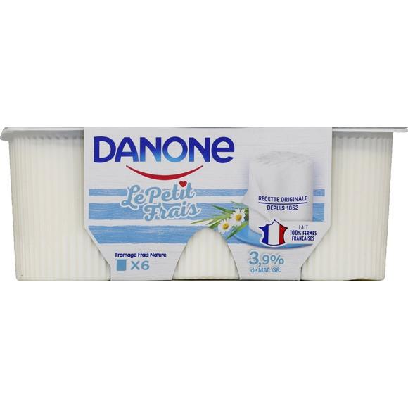 Petit Frais 3,9%, Danone (6 x 60 g)