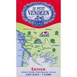 Pack de lait entier, Le Petit Vendéen (6 x 1 L)