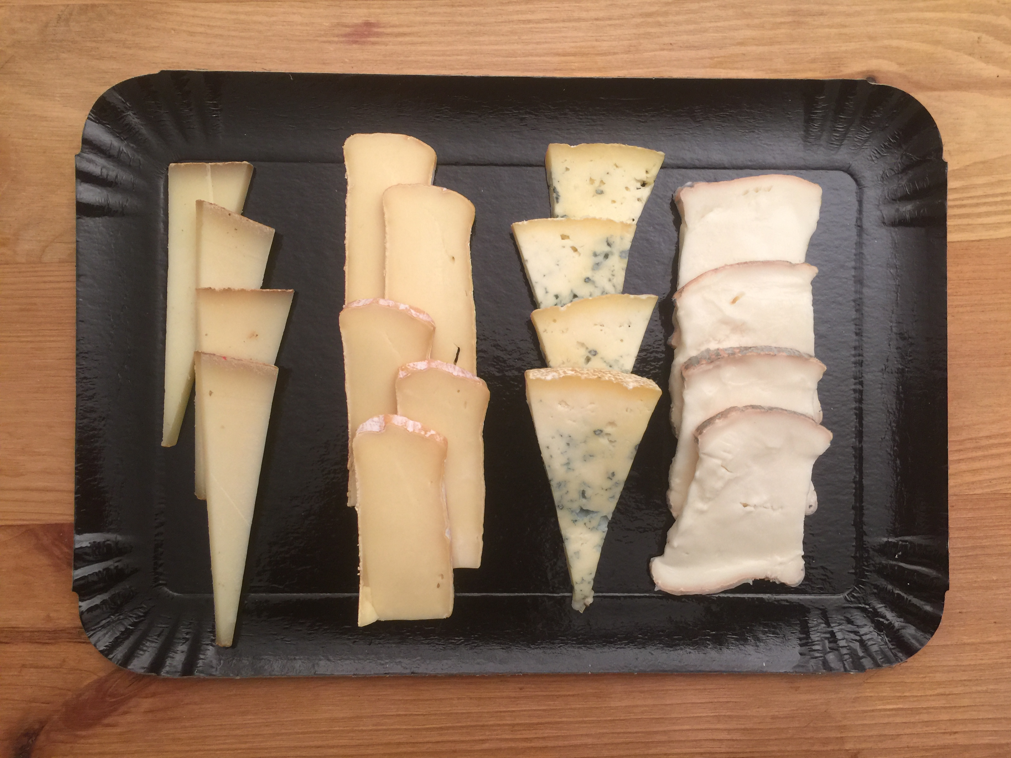 Petite planche fromages