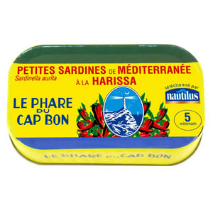 Sardine à la Harissa, Nautilus (125 g)