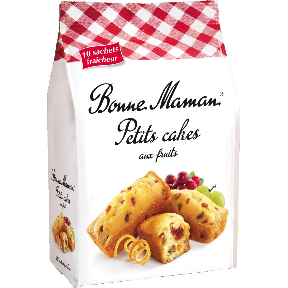 Petits cakes aux fruits, Bonne Maman (300 g)