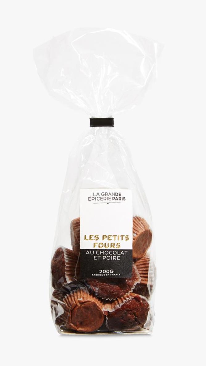Petits fours au chocolat et aux poires, La Grande Epicerie de Paris (200 g)