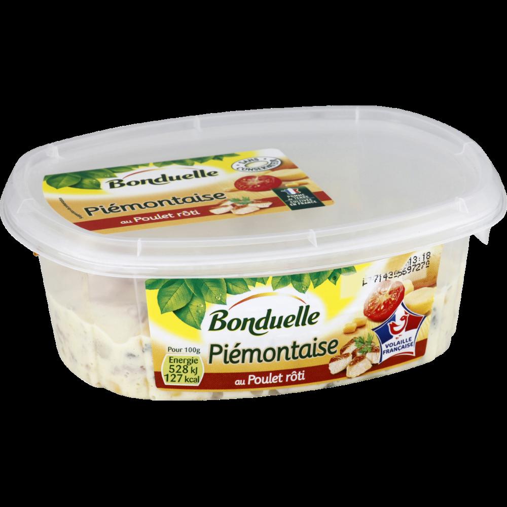 Piémontaise au poulet rôti, Bonduelle (320 g)