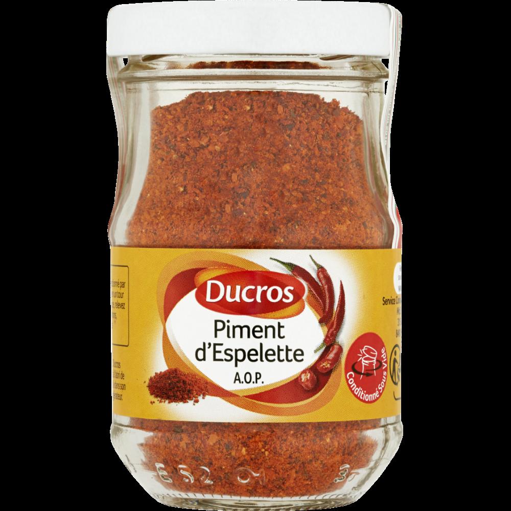 Piment d'Espelette, Ducros (40 g)