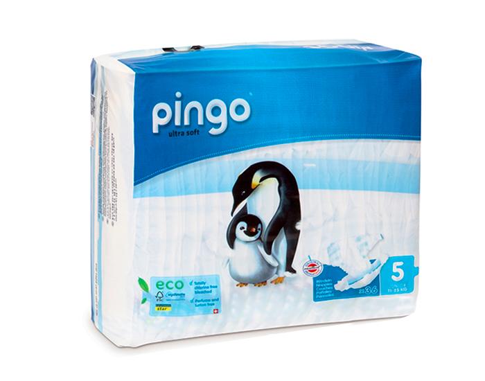 Couches écologiques T5 junior / 12-25 kg, Pingo (36 couches)