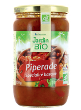 Piperade BIO, Jardin Bio (650 g)