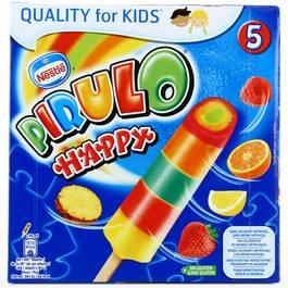 Glaces à l'eau Pirulo Happy (x 5)