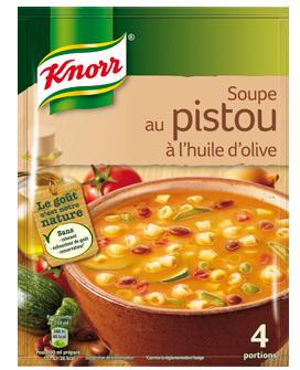 Soupe au pistou à l'huile d'olive déshydratée, Knorr (4 portions)