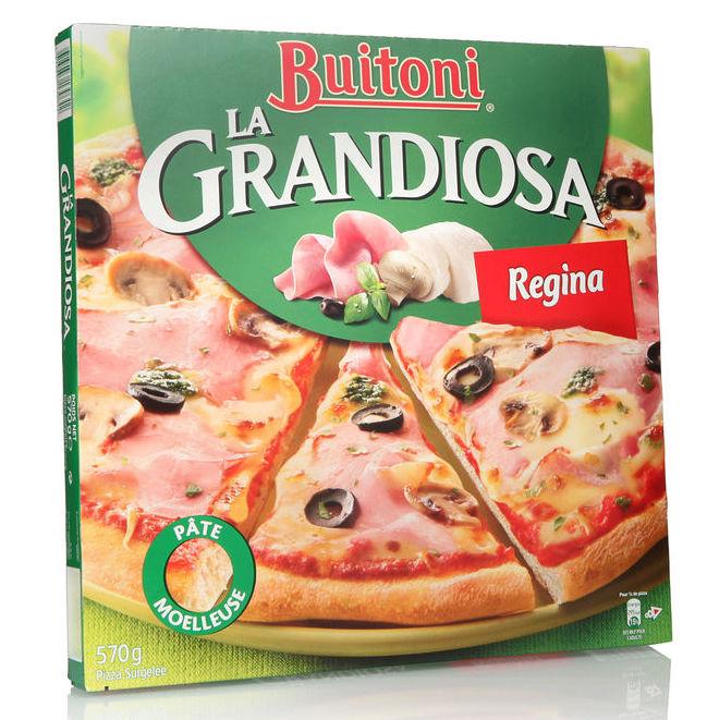 Pizza Grandiosa Regina, Buitoni surgelés (570 g)
