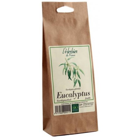 Eucalyptus feuilles BIO, Herbier de France (50 g)