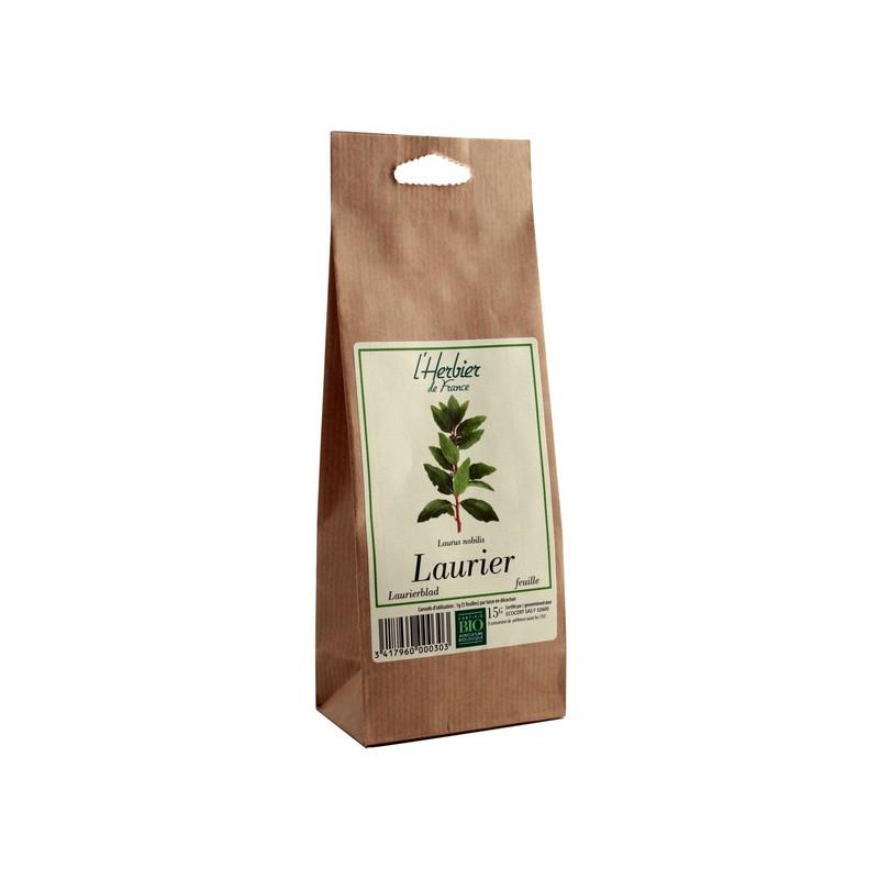 Laurier feuilles BIO, Herbier de France (15 g)