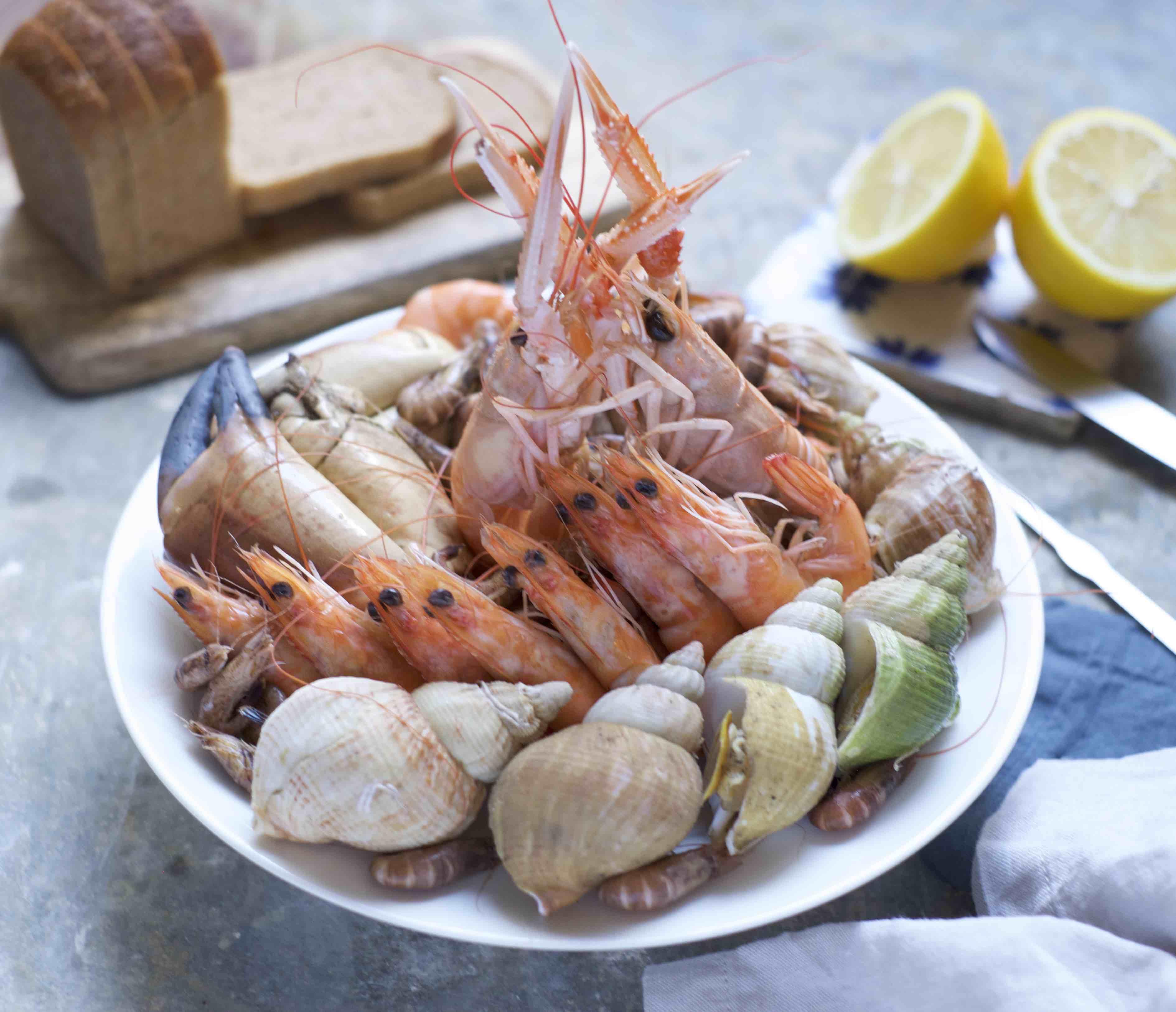 Petit plateau de fruits de mer (595 g)