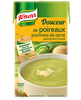 Douceur poireaux PDT comté, Knorr (1 L)