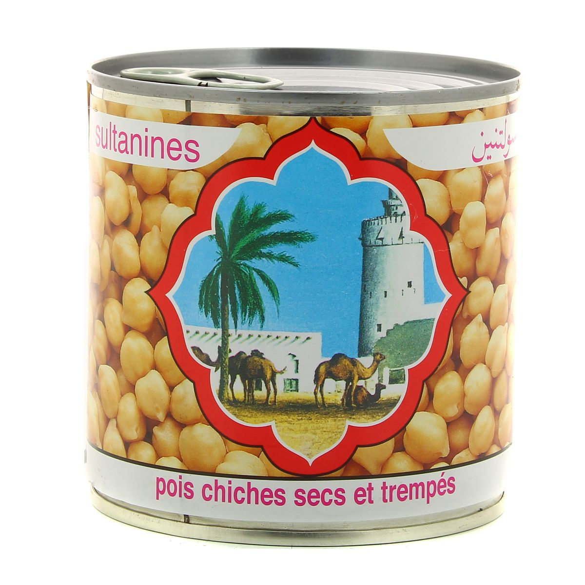 Pois chiches cuits, Sultanine (265 g)