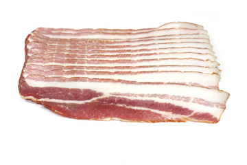 Poitrine de porc fumée, Frais Devant (tranches fines, 100 g)