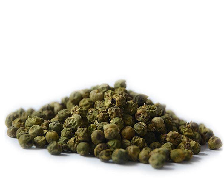 Poivre vert en grain déshydraté, Le Comptoir Colonial (10 g)