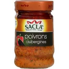 Sauce Poivron Aubergine, Sacla (190 g)