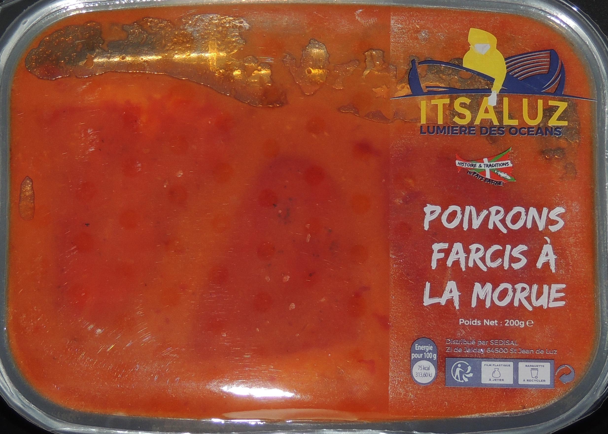 Poivrons farcis à la morue, Itsaluz (200 g)