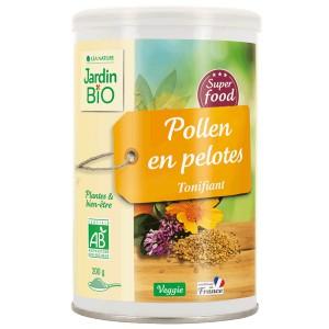 Super aliment pollen en pelotes - Tonifiant, Jardin BIO (200 g)