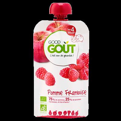Pomme Framboise BIO - dès 4 mois, Good Goût (120 g)