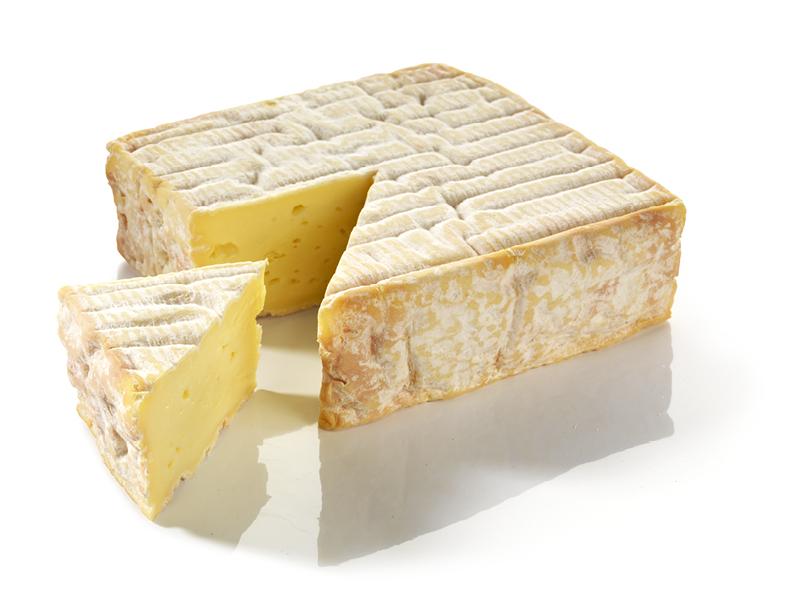 Petit Pont l'Evêque au lait cru AOP, 24 % MG/PF (220 g)