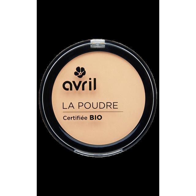 Poudre compacte porcelaine certifiée BIO, Avril (7 g)