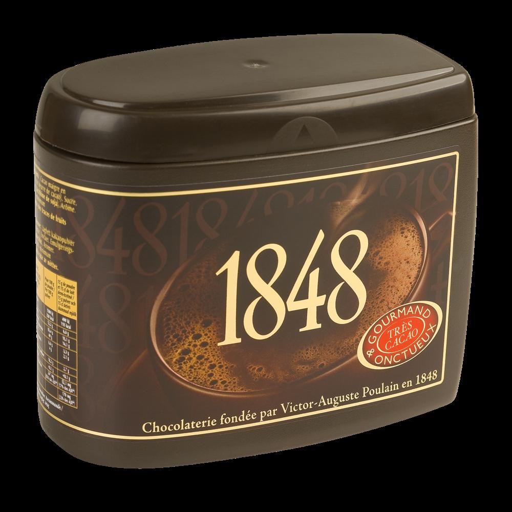 Cacao 1848 Noir, Poulain (450 g)
