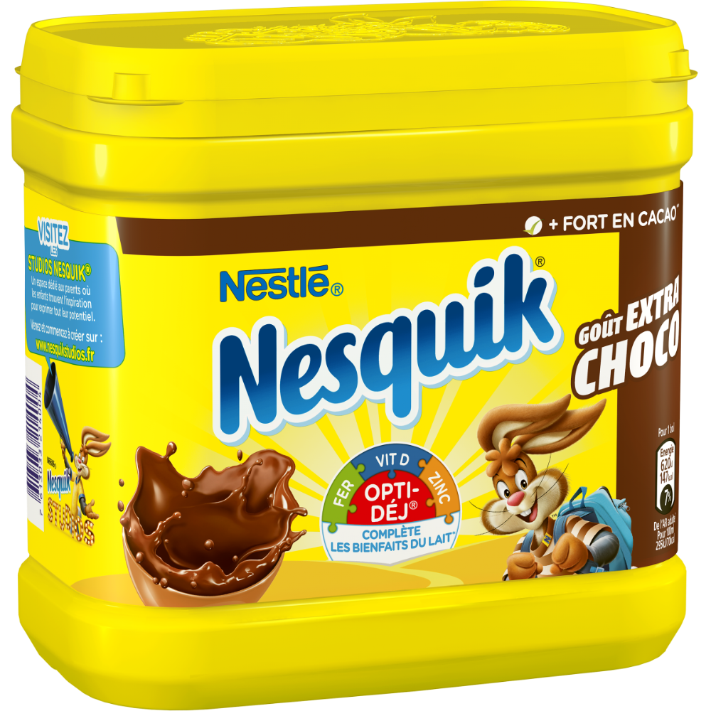 Nesquick intense, goût extra chocolat, Nestlé (600 g)