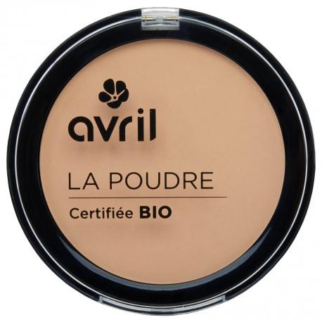 Poudre compacte nude certifiée BIO, Avril