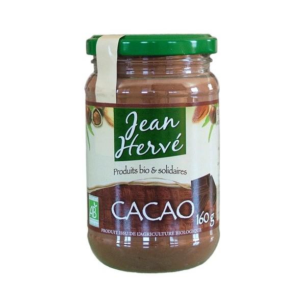 Poudre de cacao non sucré BIO, Jean Hervé (160 g)