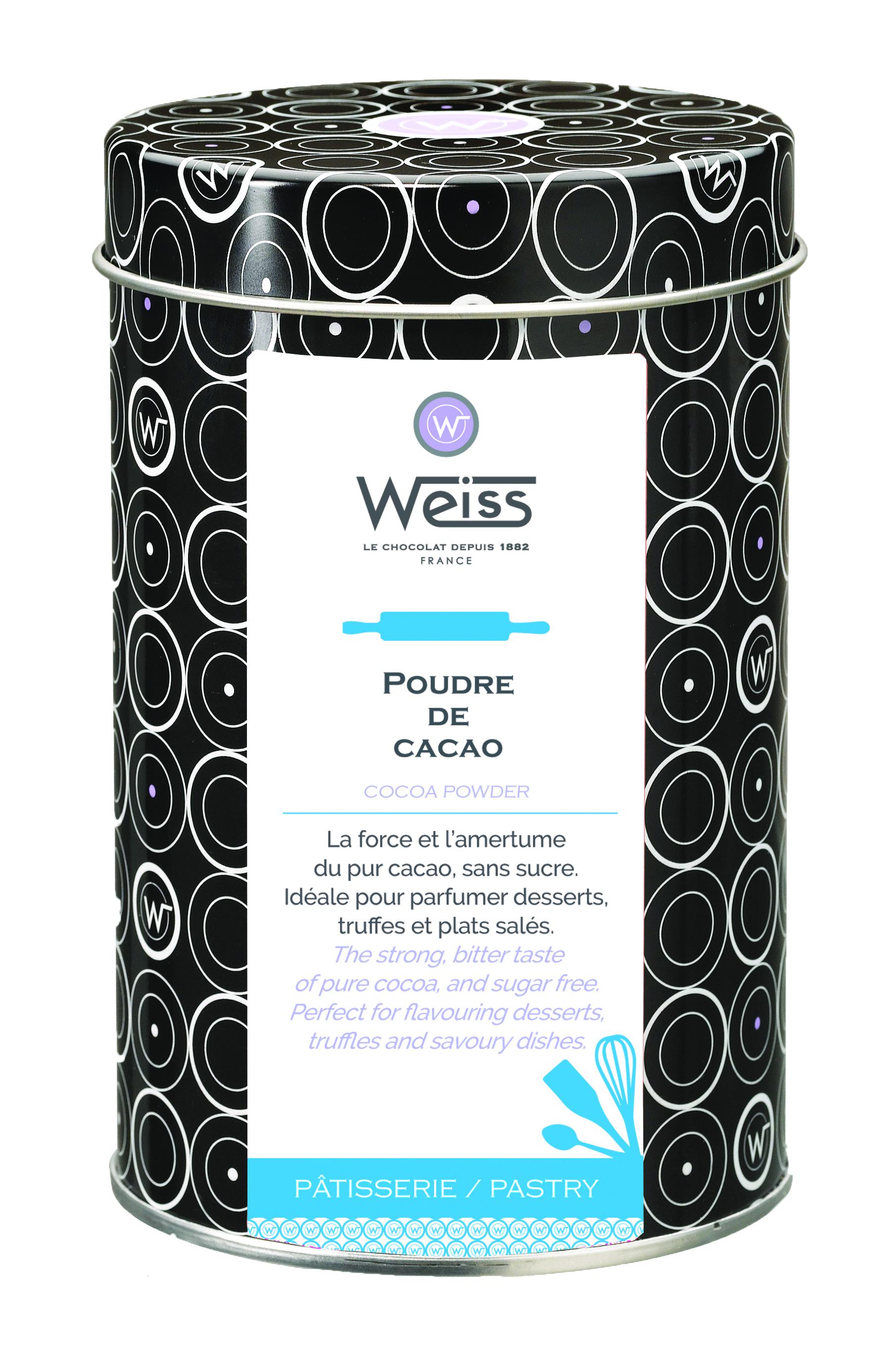 Poudre de cacao, Weiss (250 g)