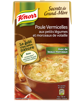 Poule vermicelle Secret de Grand-Mère, Knorr (1 L)