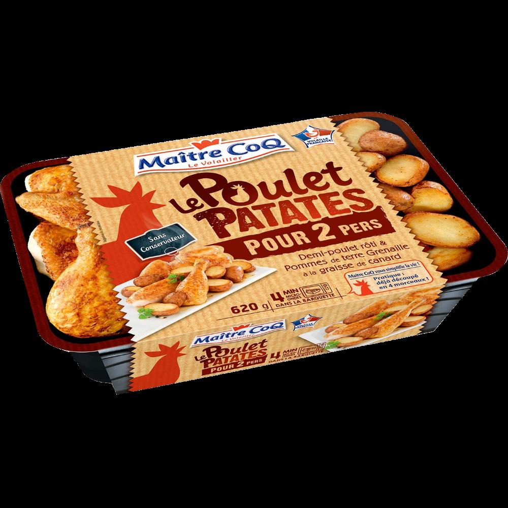 Poulet patates, Maître Coq (620 g)