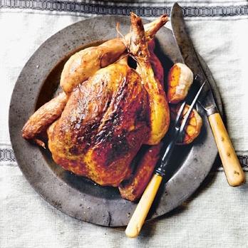 Poulet fermier rôti par La belle vie (environ 1,2 kg)