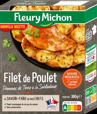 Poulet pomme Sarladaise, Fleury Michon (300 g)