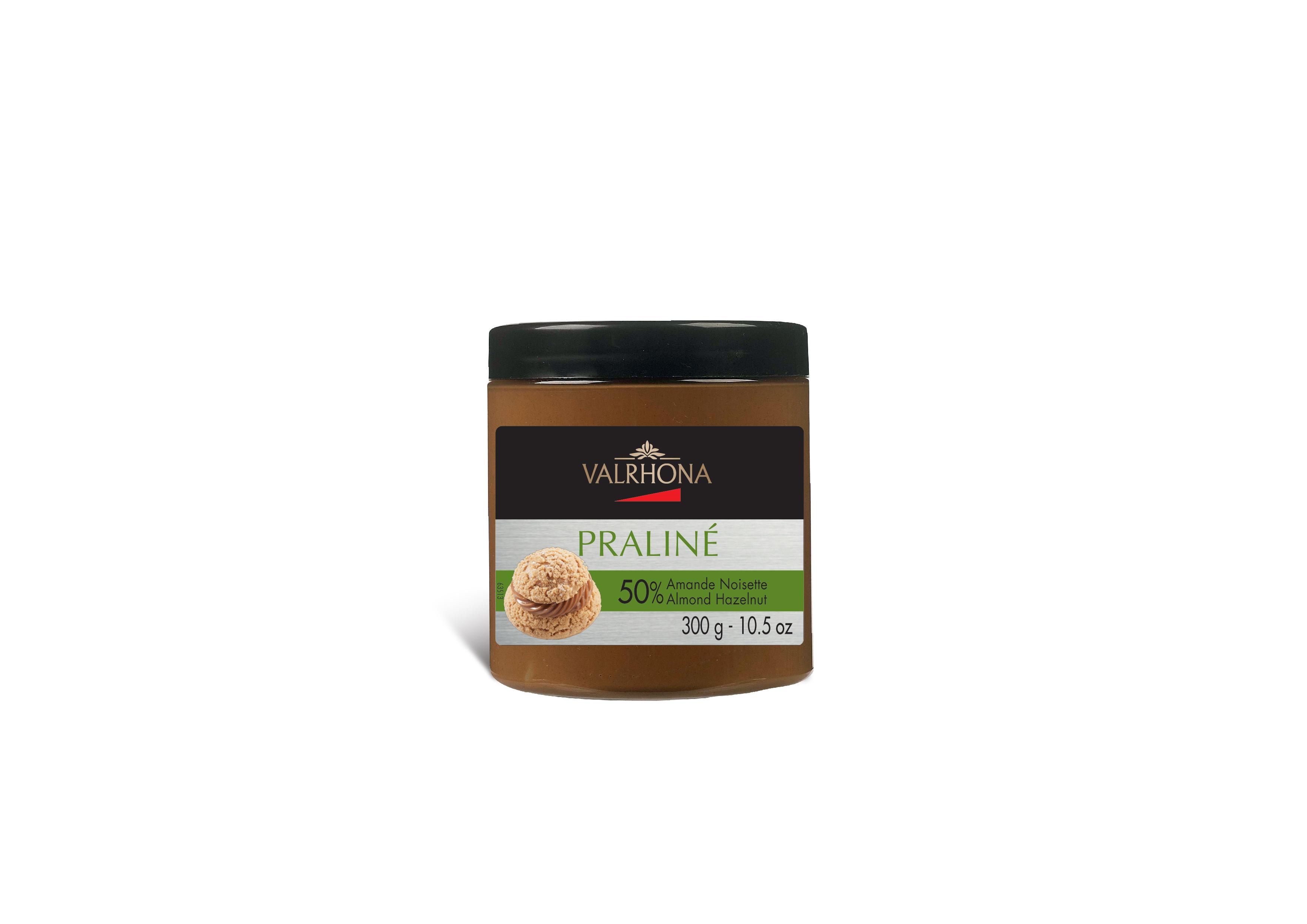 Praliné à 50% d'amandes et noisettes, Valrhona (300 g)