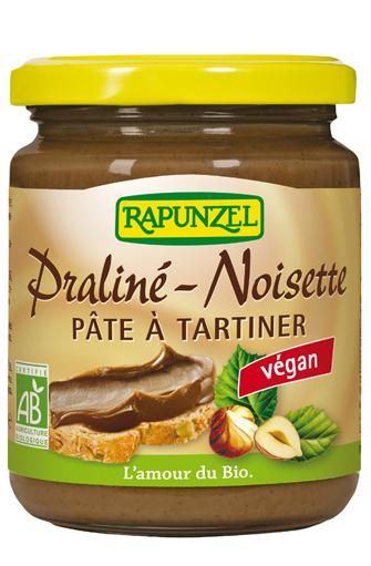Pâte à tartiner praliné noisette BIO, Rapunzel (250 g)