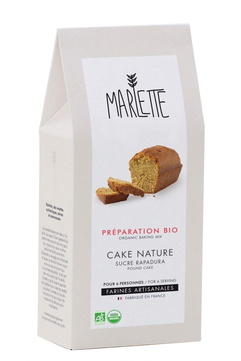 "Préparation ""Cake au rapadura"" Bio, Marlette (315 g)"