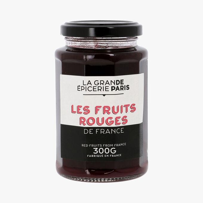 Confiture aux 3 fruits rouge de France, La Grande Epicerie de Paris (300 g)