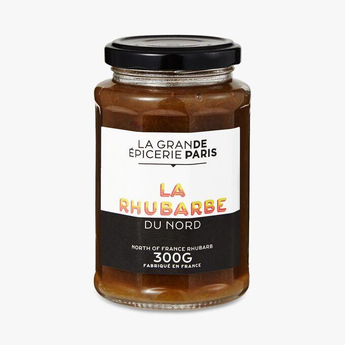 Confiture de rhubarbe du Nord, La Grande Epicerie de Paris (300 g)
