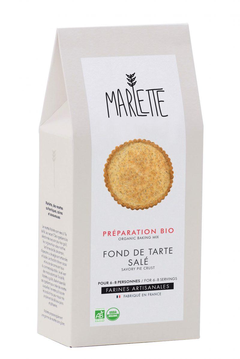 "Préparation ""Fond de tarte salé Bio, Marlette (270 g)"