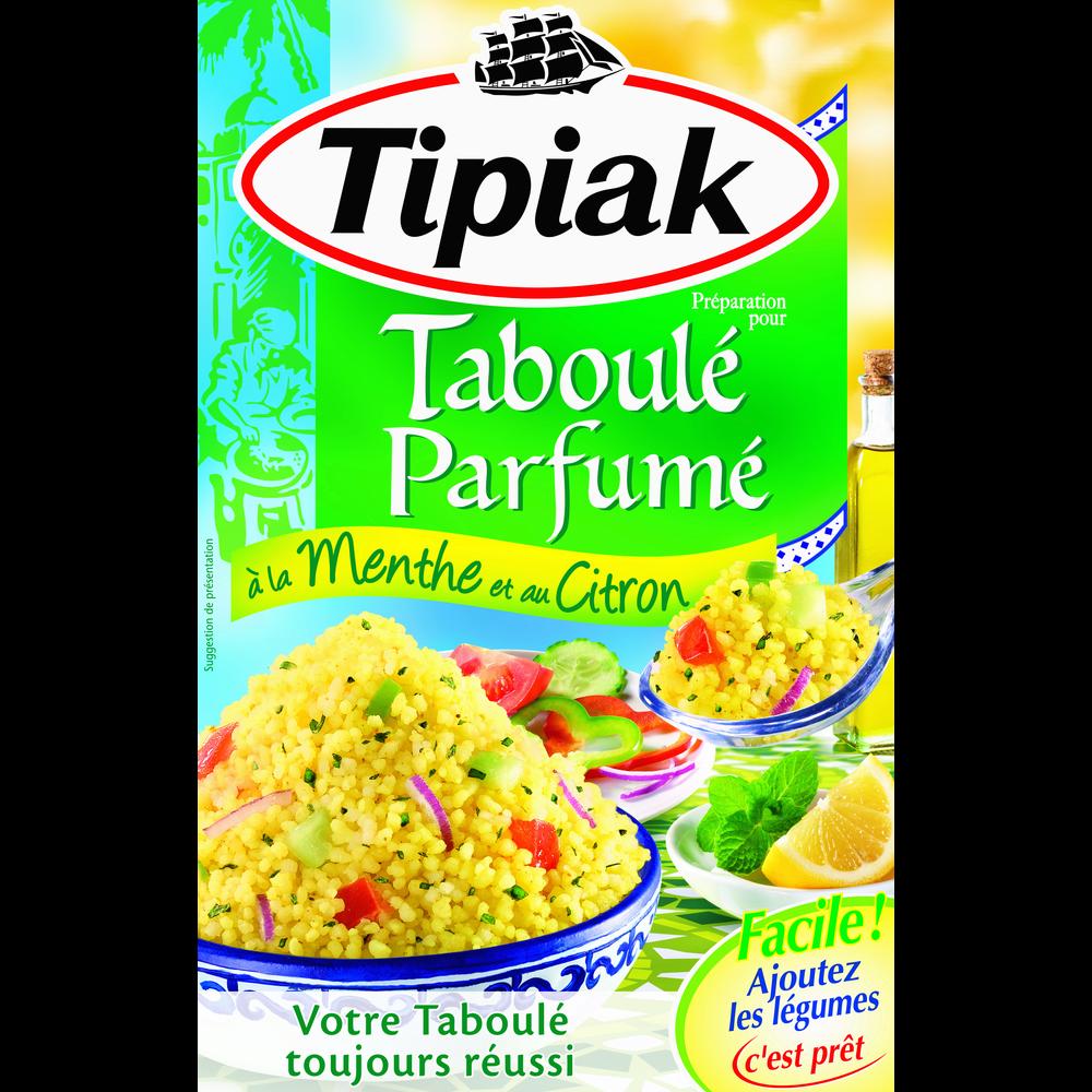 Préparation pour taboulé menthe citron, Tipiak (2 x 175 g)