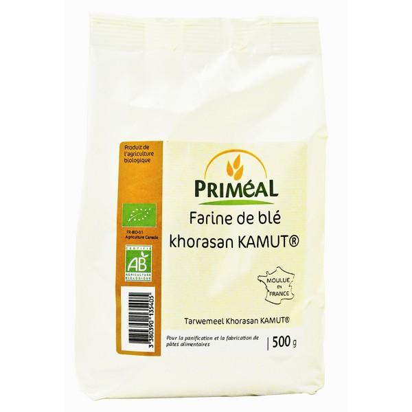 Farine de blé khorasan kamut BIO, Priméal (500 g)